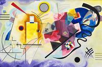 Reprodukcje obrazów Yellow Red Blue - Wassily Kandinsky Rozmiar - 90x60