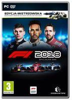 Gra F1 2018 Edycja Mistrzowska (PC)
