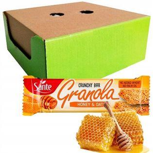 GRANOLA BATON OWSIANY 10x40 g CRUNCHY SANTE