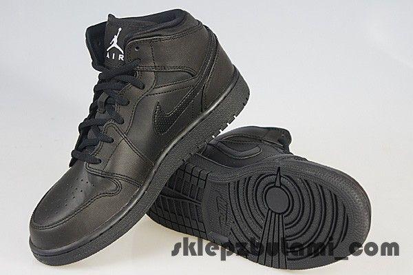 NIKE AIR JORDAN 1 MID BG 554725 044 Nike jr 40,0 EU   25,0 cm