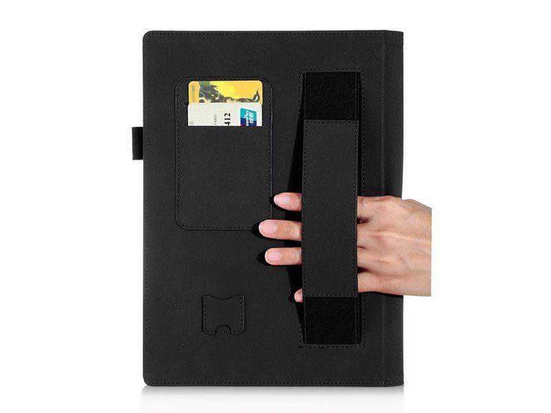 """Etui skórzane Lenovo Yoga Tab 3 Pro 10"""" X90 Niebieski + Klawiatura zdjęcie 4"""