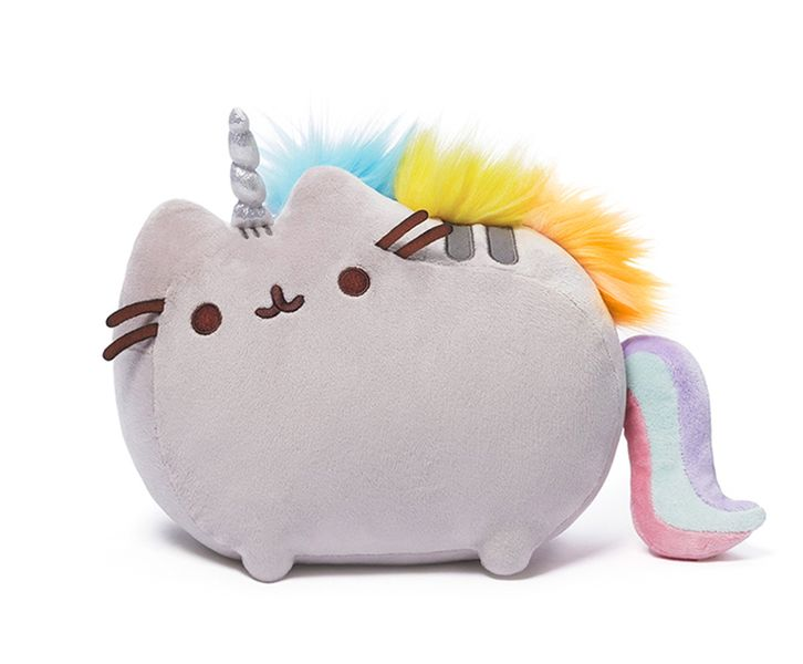 PUSHEEN jednorożec KOT unicorn puszin PODUSZKA zdjęcie 1