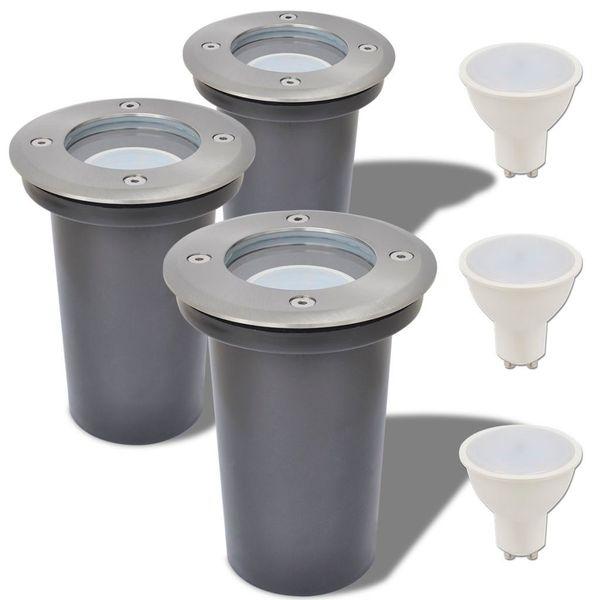 Lampy Najazdowe Led, 3 Szt., Okrągłe zdjęcie 1