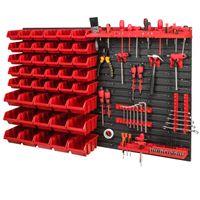 Tablica ścianka narzędziowa do garażu + 45 kuwet PRO-MIX17