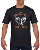 Koszulka męska Relax I've goat this S Czarny