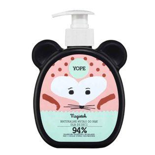 Naturalne mydło w płynie do rąk dla dzieci Nagietek 400ml Yope