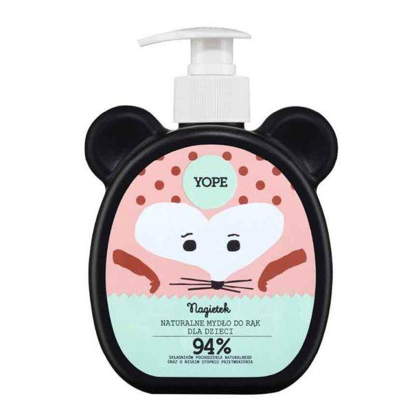 Naturalne mydło w płynie do rąk dla dzieci Nagietek 400ml Yope na Arena.pl
