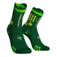 Skarpety trailowe COMPRESSPORT PRO RACING SOCKS TRAIL V3.0 - zielony T1