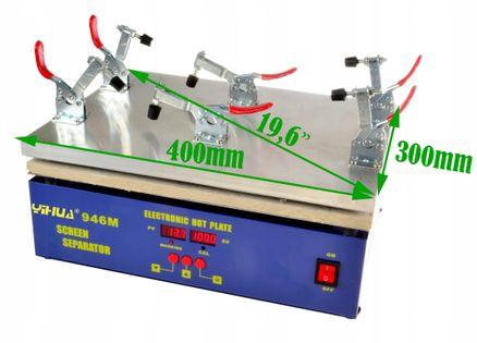 Podgrzewacz/separator WEP 946M