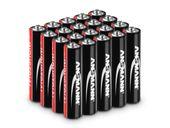 Baterie przemysłowe - alkaliczne - 1,5V - AAA - LR03 Ansmann 1501-0004