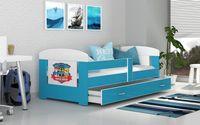 Łóżko FILIP COLOR 180x80 materac + szuflada