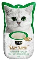 Kit Cat Purrpuree Chicken & Scallop 4X15G