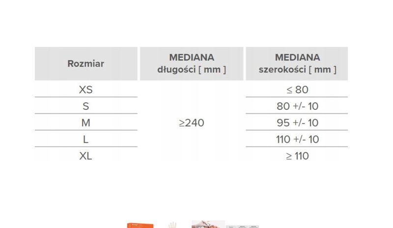 Rękawice lateksowe dermagel coated L karton 10 x 100 szt na Arena.pl