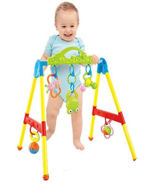 Stojaczek stojak dla dzieci gimnastyczny edukacyjny z grzechotkami Y85 zdjęcie 1