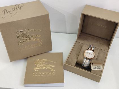 Zegarek damski Burberry BU10117 ZZLJBF008-F00