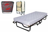 Łóżko składane dostawka hotelowa LUXOR PREMIUM 200 x 90 cm materac 13cm grubości
