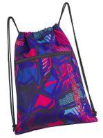 WOREK CoolPack SHOE BAG sportowy na obuwie granatowy w różowe wzory, CRAZY PINK ABSTRACT (87766CP)