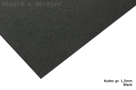 Kydex Black - 150x200mm gr. 1,5mm