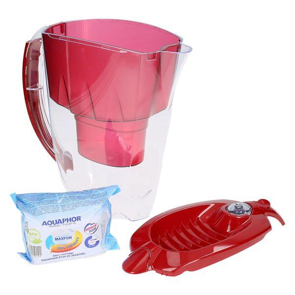 Dzbanek na wodę na drzwi lodówki + filtr gratis zdjęcie 4