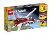 LEGO Creator 3w1 - Futurystyczny samolot 31086