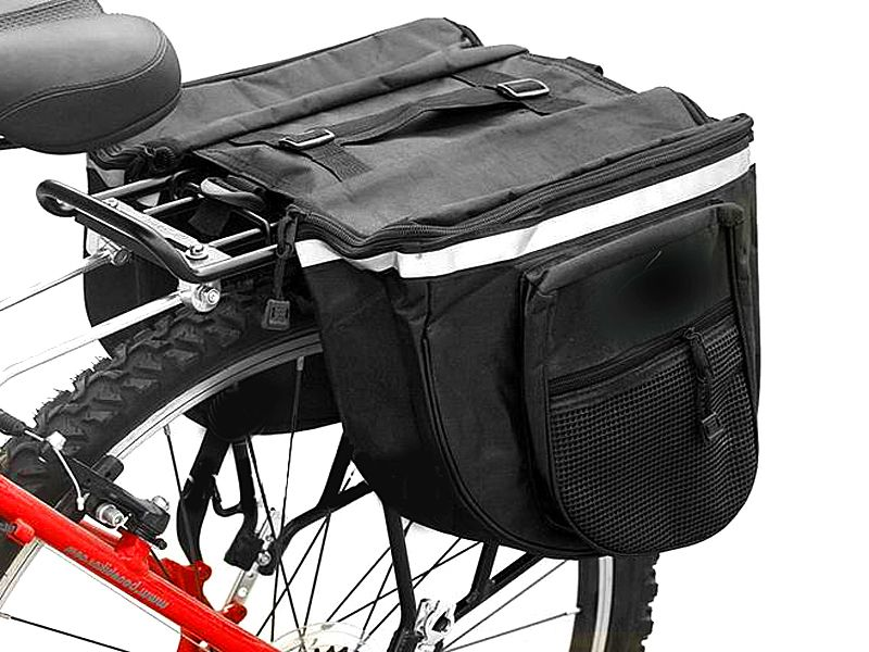 a900a572c9caff Torba na rower podwójna SAKWA rowerowa na bagażnik • Arena.pl