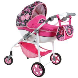 LUKSUSOWY Wózek dla lalek lalkowy PROD POLSKI !