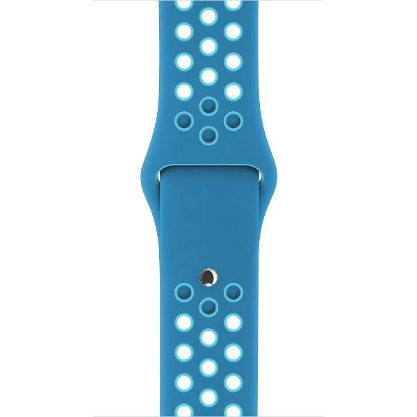 d9ba785a00f8e1 Pasek sportowy silikonowy do Apple Watch 1 2 Nike+ niebieski • Arena.pl