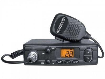 CB RADIO Symfonia 300M ASQ AM/FM wtyk zap. małe