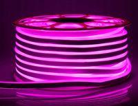 Taśma NEON 8W LED 230V barwa RÓŻOWA IP68 1mb