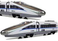 Pociąg Pendolino z Naciągiem Biały z Dźwiękiem i Światłami