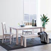 Białe romantyczne krzesło Monaco zdjęcie 2
