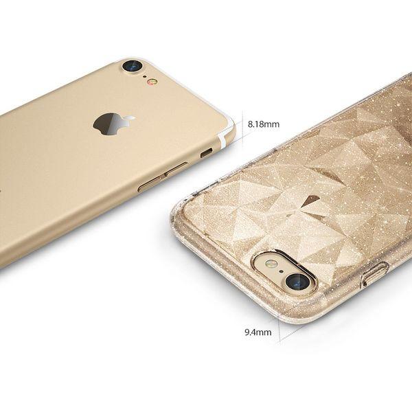 Ringke Air Prism Glitter błyszczące żelowe etui pokrowiec 3D iPhone 8 / 7 szary (APAP0010-RPKG) zdjęcie 6