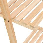 Regał Drabina Z Drewna Cedrowego, 41,5 X 30 X 176 Cm zdjęcie 5