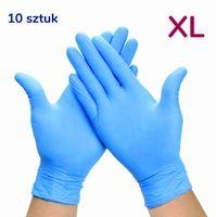 Rękawiczki nitrylowe 10 szt rozmiar XL