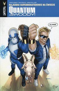 Quantum and Woody 1 Najgorsi superbohaterowie na świecie Asmus James