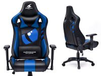 DRAGON BLUE Fotel gamingowy Warrior Chairs