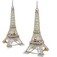 ROBOTIME Drewniany Model Puzzle 3D Wieża Eiffla