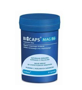 Formeds Bicaps Mag B6 Magnez cytrynian 60 kapsułek