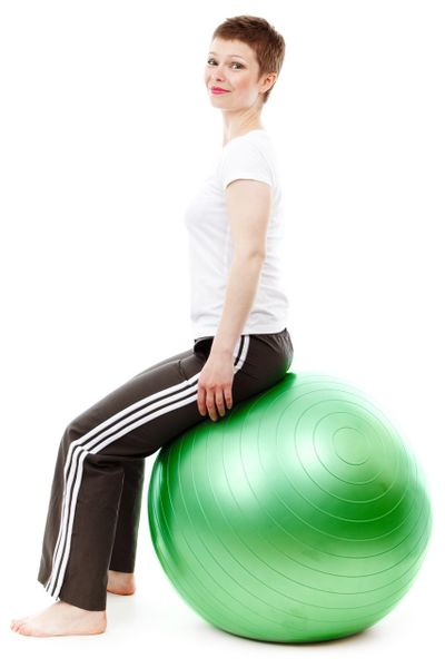 Piłka Gimnastyczna Rehabilitacyjna Fitness 75cm 419 zdjęcie 5