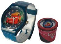 Zegarek dziecięcy Cars Auta Licencja Disney (50582 Blue)