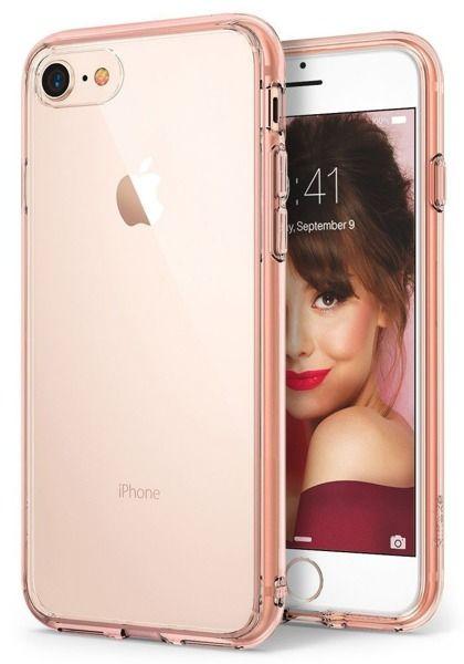 ETUI NAKŁADKA RINGKE FUSION APPLE IPHONE 7 / IPHONE 8 rose gold zdjęcie 1