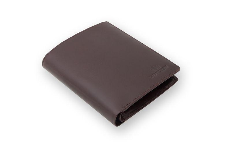 Duży, brązowy, skórzany portfel Wittchen, RFID, kolekcja: Italy zdjęcie 1