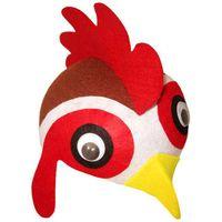 CZAPKA KOGUT KURA kurczak strój KOGUCIK ptak