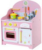 Drewniana Kuchnia Dla Dzieci Kuchenka z Akcesoriami U45