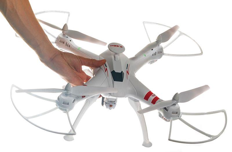 DRON TYPHON X15 z Kamerą WiFi na telefon 4000mAh (2xAku) Z184Z zdjęcie 2