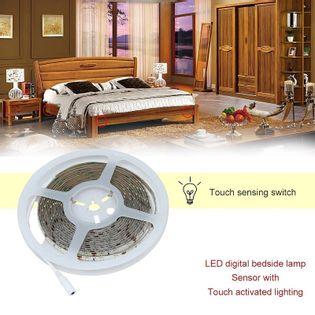 Taśma do podświetlenia łóżka lub szafki z czujnikiem ruchu 12/220V 1mb