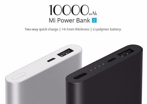 Xiaomi Mi Power Bank 2 10000mAh CZARNY na Arena.pl