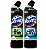 DOMESTOS ZERO BLUE LIME ŻEL DO WC ZESTAW 2 X 750ML