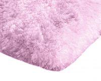 Mięciutki wysoki dywan pluszowy 140x200 różowy