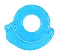 Babyono żelowy gryzak dla niemowląt na ząbkowanie - ślimak